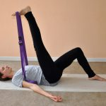 Yoga posture Leg stretch
